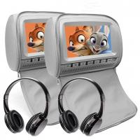 China 9 Inch Car Headrest DVD Monitor Wide Viewing Angle Car Parking Monitor on sale