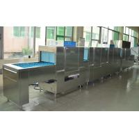 ECO-L850CP3H2 Flight Type Dishwasher 1900H 8500W 850D Dispenser inside for Staff canteens
