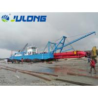 China Julong 3500cbm/hr Cutter Suction Dredger for river sea sand and land reclaimation wholesale