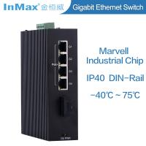 China 10/100/1000M Din Rail OEM Gigabit switch, PoE Industrial Ethernet Switch wholesale