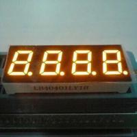 China 0.4-inch Four-digital Numeric LED Displays, Used for Digital Timers, Clock and Instrument Panel wholesale
