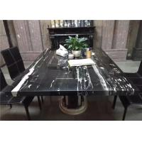 China Prefabricated Marble Table Tops Onyx Multiple Shape For Kitchen Dining Table wholesale