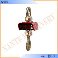 China LED Module Display Hanging Crane Hook , Digital Weighing Scale With Steel Case wholesale