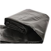 China Black Plastic Polyethylene Tarp PE Tarpaulin For Agriculture/Pond Liner/Transportation Cover on sale
