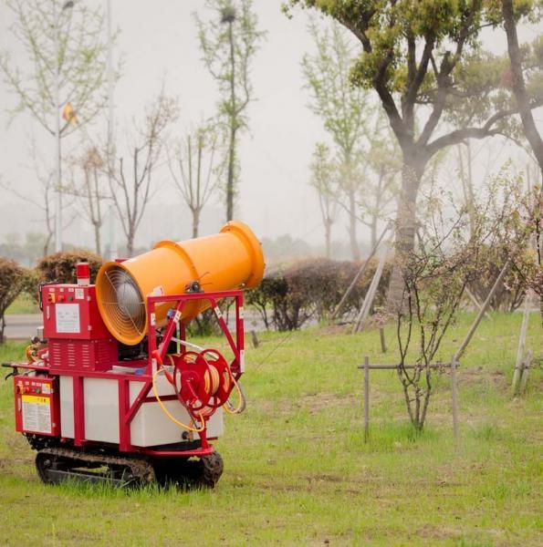 Mini Crawler Type Air Blast Gas Engine Power Sprayer Wzg A