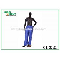 China Anti Dust Breathable Long Disposable Pants PP Nonwoven for Hotels on sale