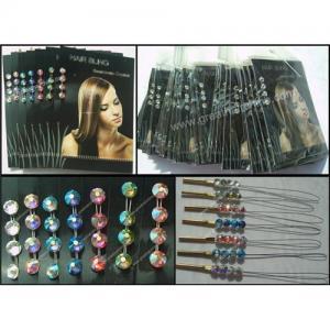 China Swarovski Crystal Hair Bling wholesale
