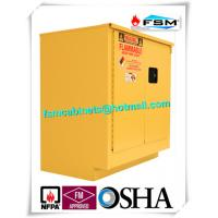 China Steel Flammable Safety Cabinets With Self Latch Sliding Door For Gasoline / Pesticide wholesale
