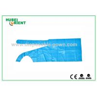 China Polythene Disposable Aprons , Waterproof Plastic Colored Aprons wholesale