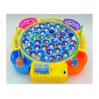 China Funny Plastic Children's Play Toys Fishing Game Battery Operated With Music wholesale