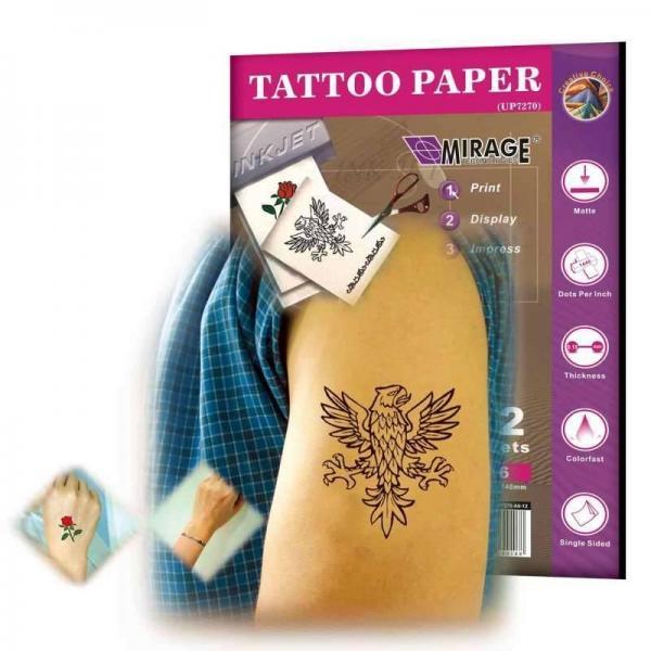 Ѕумага дл¤ временных татуировок