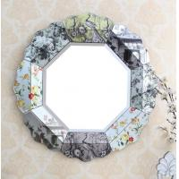 China Decorative Bedroom Wall Mirrors , Beveled Glass Vanity Mirror OEM Service on sale
