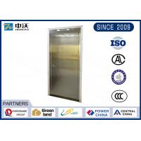 China Flexible Single Stainless Steel Fire Rated Doors With High Strength Glass wholesale