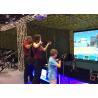 China Popular Virtual Reality Motion Simulator , VR Shooting Simulator Arcade Games Machines wholesale