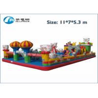 China inflatable castle maze Promotion inflatable bouncer slide wholesale