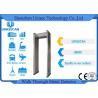 China Paseo multi del detector de metales del marco de puerta de las zonas de la seguridad con 4-8 horas de batería de la copia de seguridad wholesale
