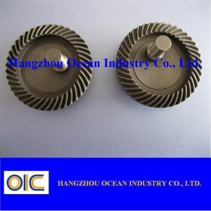 Buy cheap Engranaje cónico espiral de la transmisión de M1 M1.5 el mini con el caso endurece from wholesalers