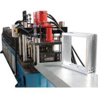 China China Hot Sale Professional Square Vane Smoke Damper Roll Forming Machine With Chain Drive on sale