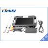 China Handheld Patrol COFDM Receiver 1080P Full HD AV Digital Video wholesale