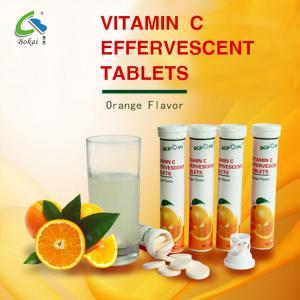 Nourishing Food Vitamin C Effervescent Tablets 1000mg For Skin Whitening