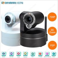 China Home Indoor 3X Optical Zoom Lens Wireless IP PTZ Camera with IR-Cut on sale