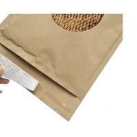 Quality Cellular Shaped Kraft Corrugated Envelopes Padded Honeycomb Paper For Shipping for sale
