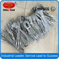 China Double eye galvanized cable pulling grips wholesale