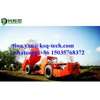 China RT-20 Low Profile Dump Truck For Tunneling Rock Excavation With 10m3 Capacity wholesale