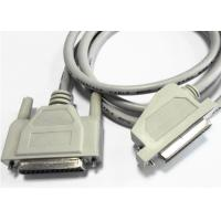 China Copper Conductor Parallel Printer Cable Angled D - SUB 25 PIN Female Connector wholesale