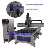 High Speed CNC Leather Cutting Equipment , Customized Cnc Wood Cutting Machine