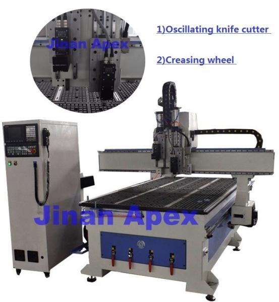 Quality High Speed CNC Leather Cutting Equipment , Customized Cnc Wood Cutting Machine for sale