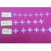 China White 2.5mm / 4mm / 5mm Floor Tile Spacers on sale