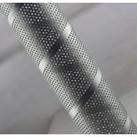 China Galvanized Steel Spiral Perforated Tube Custom Length ASTM GB Rust Prevention on sale