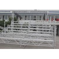 China Easy Assembled Silver Portable Indoor Bleachers Aluminium Retractable Gym Bleachers wholesale