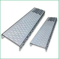 China Fiber Reinforced Plastics GRP Perforated Cable Tray with Electro zinc plated for indoor wholesale