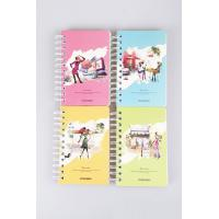 China a5 custom spiral notebook for promotional gift wholesale