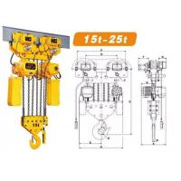 China YT Electric Hoist Chain Pulley Block/Low Price Electric Chain Hoist wholesale