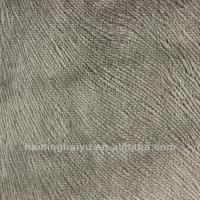 China Jacquard Composite Fabric Nonwoven Polyester Chenille Fabric Various Color wholesale