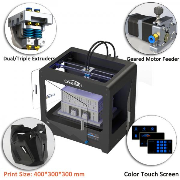 Quality Metal Frame Large Scale 3D Printer 3D Printing Plate Type 400*300*300 Mm Forming Size for sale