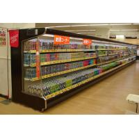 China Supermarket Multi-desk Open Chiller / Reach-in Beverage Cooler 2℃ - 10℃ on sale