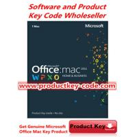 China Microsoft Office Product Key Codes, Microsoft Office For Mac 2011 Home and Business FPP ESD Key Code wholesale