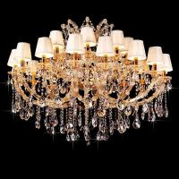 Buy cheap Floral crystal chandelier Gold Color For indoor Home Lighting (WH-CY-113) from wholesalers