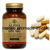 China Alpha Lipoic Acid 600mg Weight Loss Pills with Private Label Dietary Supplement wholesale