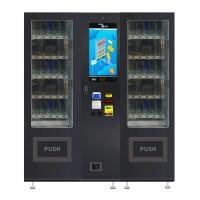 China LED Lighting Snack Drink Vending Machine Combo With 22 Inches Touch Screen wholesale