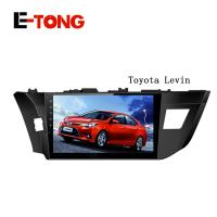 China 10.1 inch car GPS Radio player for toyota levin 2014 Android 4.4 OS 16G Wifi 3G BT USB wholesale