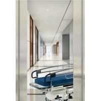 China Automatic Door Type Hospital Bed Elevator , Hairline Stainless Steel Elevator wholesale