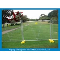 Buy cheap Heavy Duty Temporary Fencing Panels / Galvanized Goat Farm Fence Metal Iron Material from wholesalers