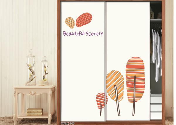 Quality Elegant Wood UV Veneer White High Gloss Sliding Wardrobe Doors European Style for sale