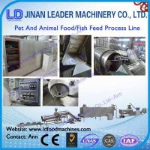 China newly develop Animal pellet press machine or floating dog cat fish pet food machine wholesale