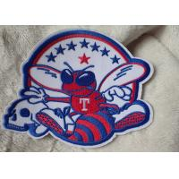 China 3D Washable Custom Embroidery Heat Transfer Patch For Ski-Wear on sale